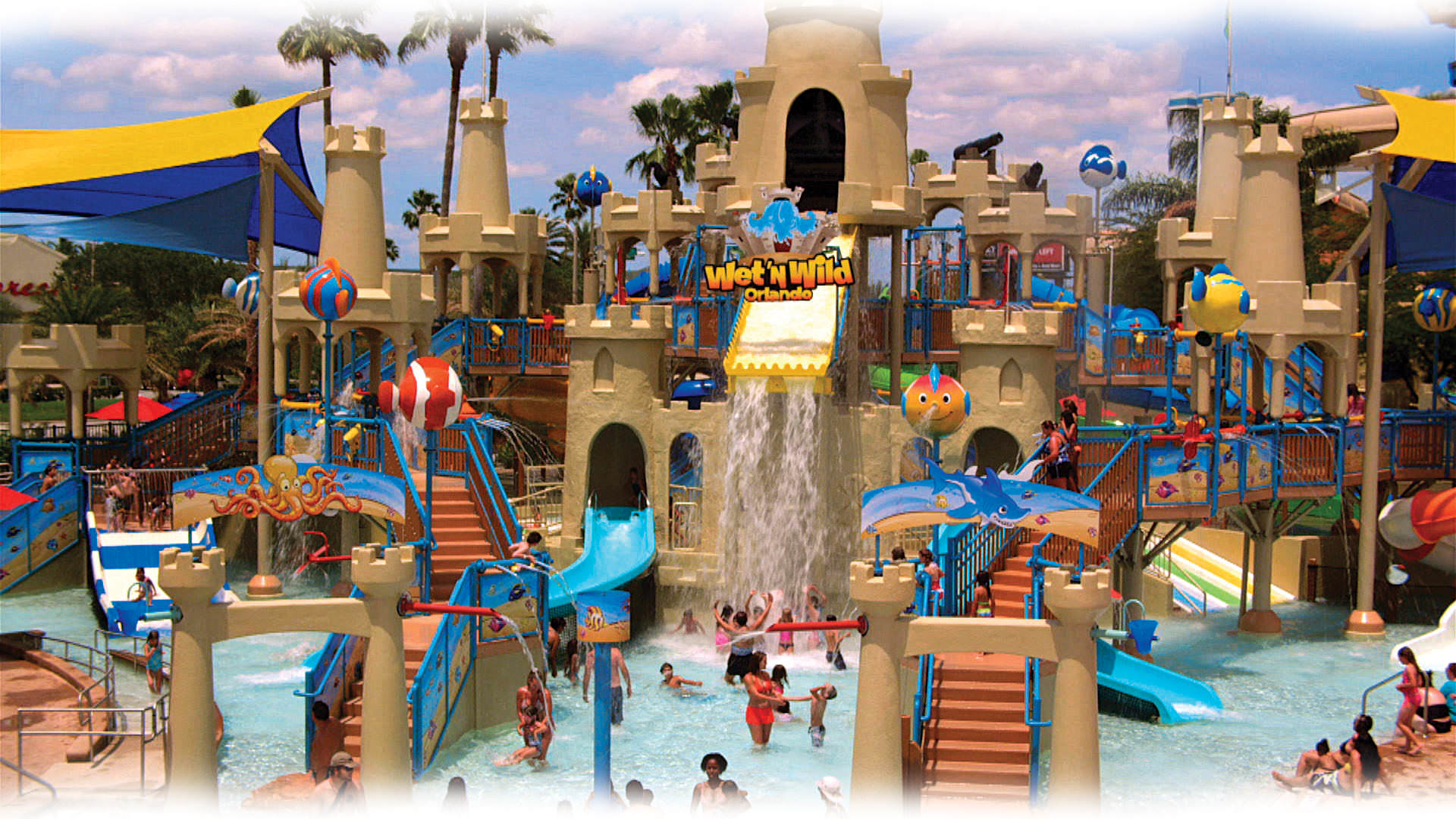 Wetn Wild Blast Away  orlando beach waterpark american vacation living
