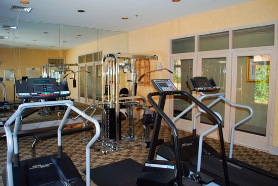 Complimentary-workout-gym - disney